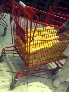 Bagietki w Carrefourze