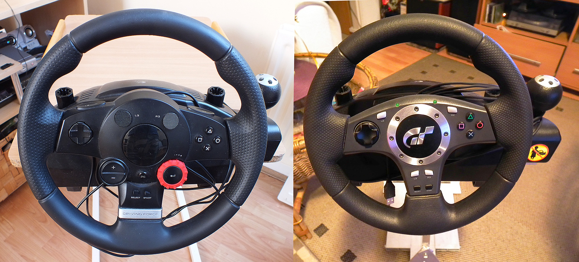 Driving Force Pro vs Driving Force GT